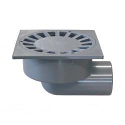 Sumidero sifónico PVC salida horizontal A-23 - RIUVERT