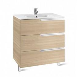 Mueble + lavabo roble VICTORIA-N FAMILY - ROCA