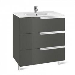Mueble + lavabo gris VICTORIA-N FAMILY - ROCA