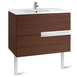 Mueble + lavabo wengué VICTORIA-N - ROCA