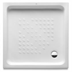 Platos de ducha blanco de porcelana ITALIA  - ROCA