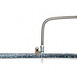 Latiguillo flexible trenzado para instalaciones contra incendios