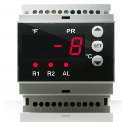 Controlador de temperatura  230 V 2 raíles - AKO