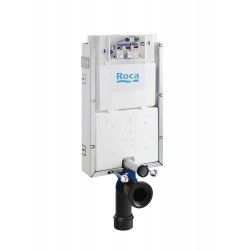 Bastidor con cisterna empotrable de doble descarga para inodoro suspendido IN-WALL - ROCA