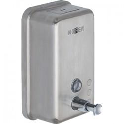 Dosificador de jabón líquido vertical de acero inox 1200 ml - NOFER
