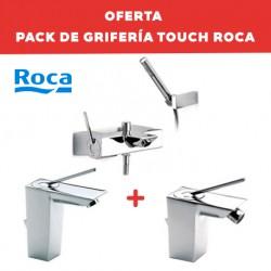 Pack de grifería de baño TOUCH - ROCA