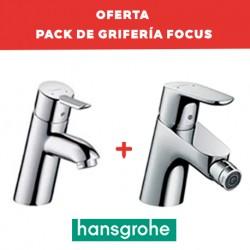 Grifo de lavabo + bidé FOCUS - HANSGROHE