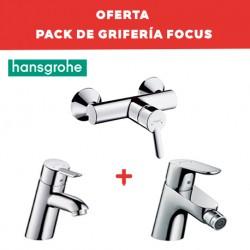 Pack grifería de baño FOCUS - HANSGROHE