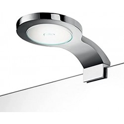 Aplique LED para baño 9x4x15 cm - INDA