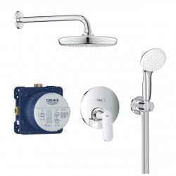 Conjunto de ducha con TEMPESTA 210 EUROSMART COSMOPOLITAN - GROHE