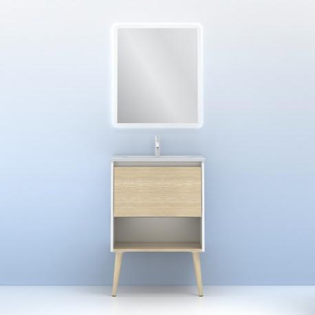 Conjunto de mueble + lavabo NARA - AMIZUVA