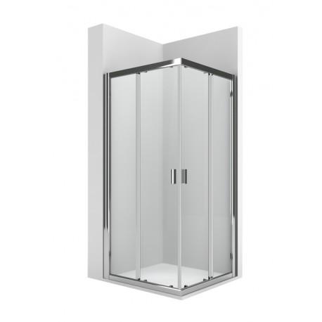Mampara de ducha con puerta corredera 800x1900 URA DF - ROCA